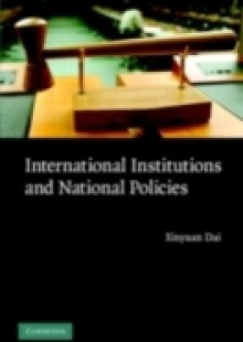 Обложка книги  - International Institutions and National Policies