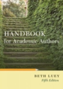 Обложка книги  - Handbook for Academic Authors