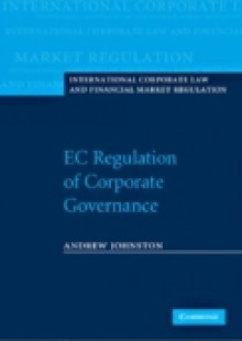 Обложка книги  - EC Regulation of Corporate Governance