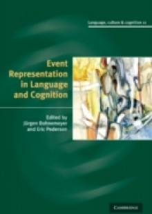 Обложка книги  - Event Representation in Language and Cognition