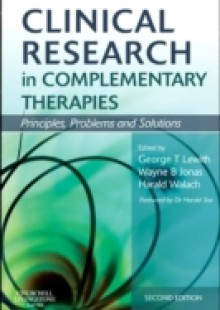 Обложка книги  - Clinical Research in Complementary Therapies