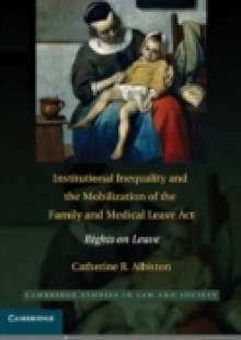 Обложка книги  - Institutional Inequality and the Mobilization of the Family and Medical Leave Act