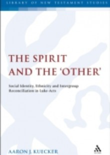 Обложка книги  - Spirit and the 'Other'