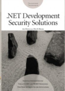 Обложка книги  - .NET Development Security Solutions