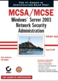 Обложка книги  - MCSA / MCSE: Windows Server 2003 Network Security Administration Study Guide