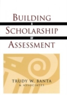 Обложка книги  - Building a Scholarship of Assessment