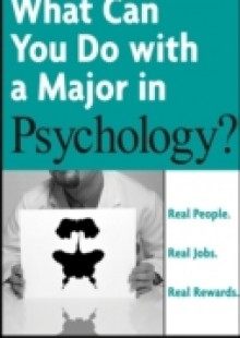 Обложка книги  - What Can You Do with a Major in Psychology