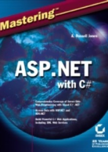 Обложка книги  - Mastering ASP.NET with Visual C#