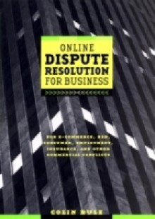 Обложка книги  - Online Dispute Resolution For Business