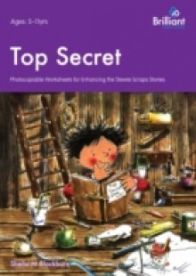 Обложка книги  - Top Secret – Stewie Scraps Teacher Resource