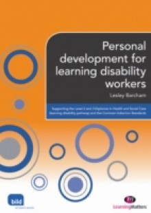 Обложка книги  - Personal development for learning disability workers