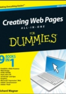 Обложка книги  - Creating Web Pages All-in-One For Dummies