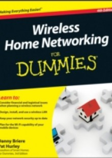 Обложка книги  - Wireless Home Networking For Dummies