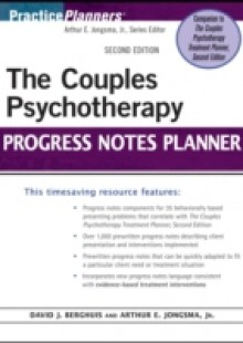 Обложка книги  - Couples Psychotherapy Progress Notes Planner