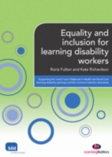 Обложка книги  - Equality and inclusion for learning disability workers