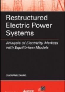 Обложка книги  - Restructured Electric Power Systems