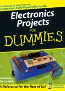 Обложка книги  - Electronics Projects For Dummies