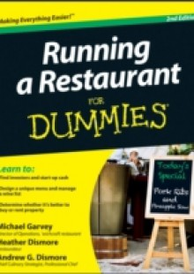 Обложка книги  - Running a Restaurant For Dummies
