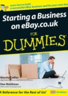 Обложка книги  - Starting a Business on eBay.co.uk For Dummies