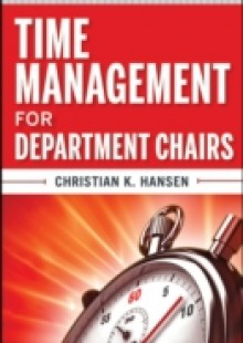 Обложка книги  - Time Management for Department Chairs
