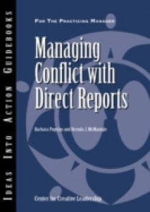 Обложка книги  - Managing Conflict with Direct Reports