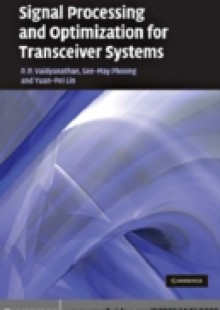 Обложка книги  - Signal Processing and Optimization for Transceiver Systems