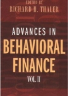 Обложка книги  - Advances in Behavioral Finance, Volume II
