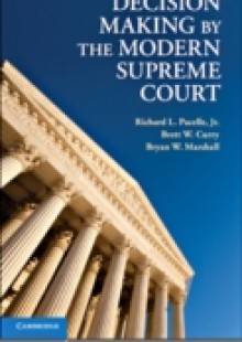 Обложка книги  - Decision Making by the Modern Supreme Court