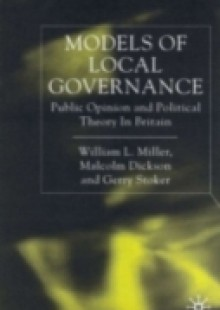 Обложка книги  - Models of Local Governance