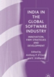 Обложка книги  - India in the Global Software Industry