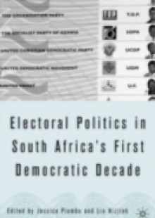 Обложка книги  - Electoral Politics in South Africa