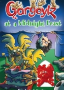 Обложка книги  - Gargoylz at a Midnight Feast
