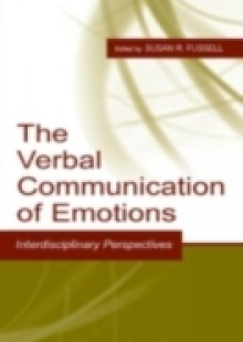 Обложка книги  - Verbal Communication of Emotions