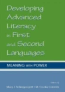 Обложка книги  - Developing Advanced Literacy in First and Second Languages