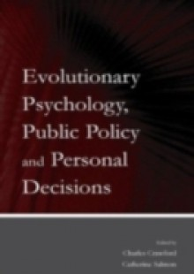 Обложка книги  - Evolutionary Psychology, Public Policy and Personal Decisions