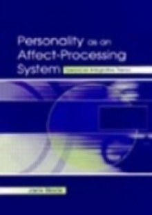 Обложка книги  - Personality As An Affect-processing System
