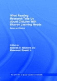 Обложка книги  - What Reading Research Tells Us About Children With Diverse Learning Needs