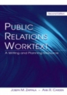 Обложка книги  - Public Relations Worktext