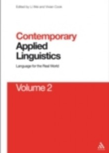 Обложка книги  - Contemporary Applied Linguistics Volume 2
