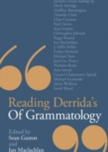 Обложка книги  - Reading Derrida's Of Grammatology