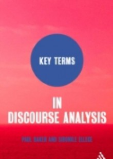 Обложка книги  - Key Terms in Discourse Analysis