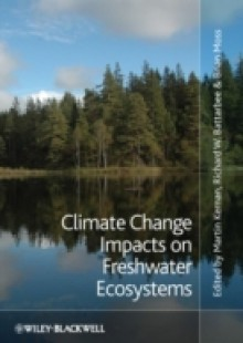 Обложка книги  - Climate Change Impacts on Freshwater Ecosystems