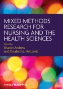 Обложка книги  - Mixed Methods Research for Nursing and the Health Sciences