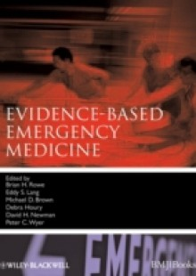 Обложка книги  - Evidence-Based Emergency Medicine