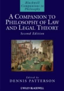 Обложка книги  - Companion to Philosophy of Law and Legal Theory