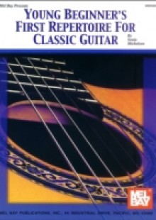 Обложка книги  - Young Beginner's First Repertoire for Classic Guitar
