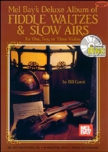 Обложка книги  - Deluxe Album of Fiddle Waltzes & Slow Airs