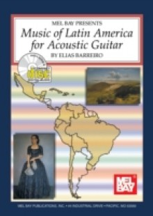 Обложка книги  - Music of Latin America for Acoustic Guitar