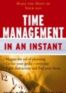 Обложка книги  - Time Management In An Instant