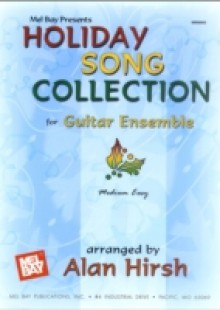 Обложка книги  - Holiday Song Collection for Guitar Ensemble